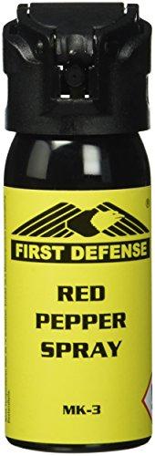 First Defense Herren Messer MK-3 Red Pepper, gelb, One Size