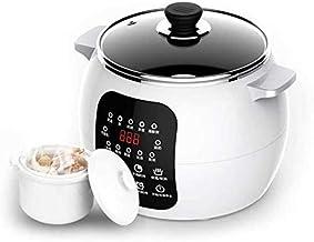 220V Electric Slow Cooker 2.5L 13 Menu Soupe en céramique Pot Pot Pot Machine de petit-déjeuner DIY Yaourt Pickle Maker 12...