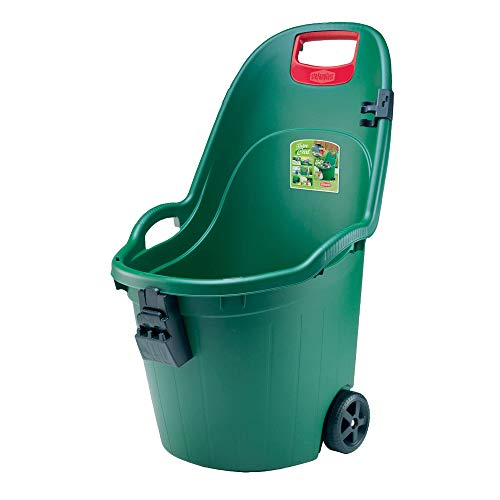 Stefanplast Brouette de jardin en plastique Coloris vert Capacit/é 50/L 60 kg maximum