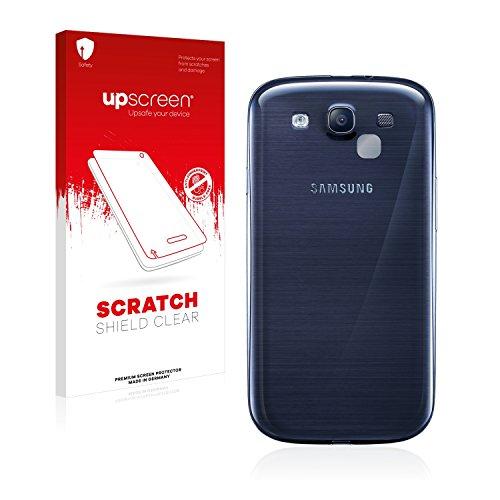 upscreen Schutzfolie kompatibel mit Samsung Galaxy S3 Neo (NUR Kamera) – Kristallklar, Kratzschutz, Anti-Fingerprint