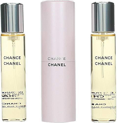 Chanel Chance Edt Vapo Twist & Spray 3 X 20 Ml 1 Unidad 600 g