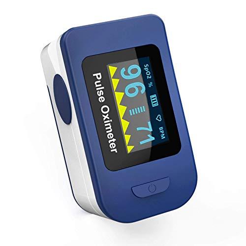 Wellue FSC20C - Oxímetro - Pulsioxímetro de dedo - Pulsioxímetro - Lectura inmediata en pantalla OLED - Oxígeno, pulso y onda de pulso - Dispositivo médico CE 0123