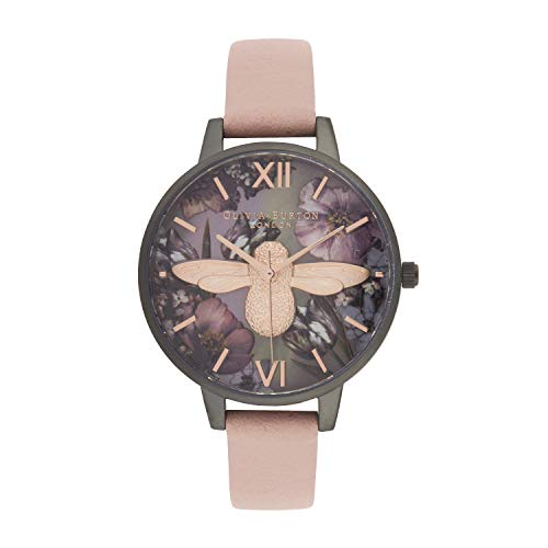 Olivia Burton Japanischer Quarz Uhr mit Kunststoff Armband OB16TW02