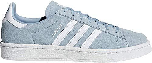 adidas Damen Campus W Sneakers,Mehrfarbig (Gricen/Ftwbla/Balcri 000), 40 2/3 EU