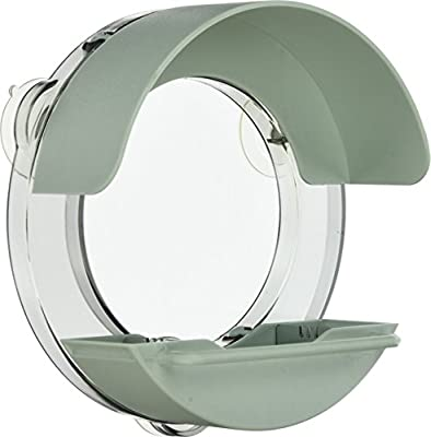The Nuttery WIR-D01 Porthole Window Feeder - Mint Green from The Nuttery