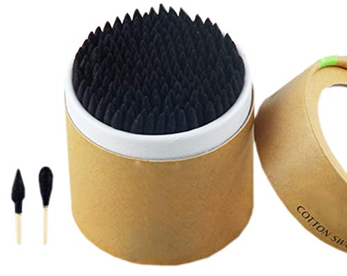 Cotons-tiges de sécurité 200 pièces Coton-tige à double pointe Bâtons de nettoyage polyvalents #17