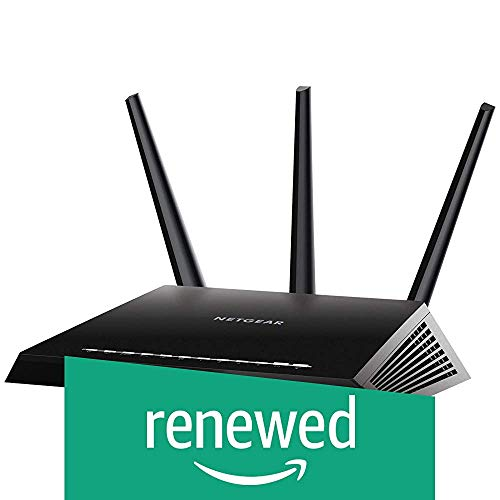 Netgear (R7000P-100NAS) Nighthawk AC2300 Dual Band Smart WiFi Router, Gigabit Ethernet, MU-MIMO, Compatible with Amazon Echo/Alexa and Circle Smart Parental Controls (Renewed)
