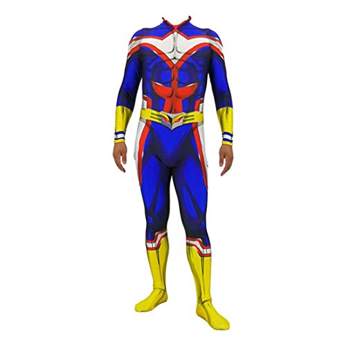 Gettesy My Hero Academia Boku No Hero Academia All Might Cosplay Costume, Anime Cosplay Deguisement Vêtement pour Carnaval Halloween Party
