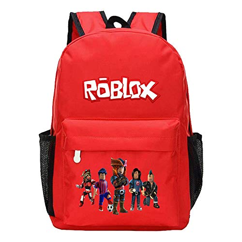Unisex Roblox Game Printed Backpack School Rucksack for Boy and Girl Casual Backpack Printed Daypack