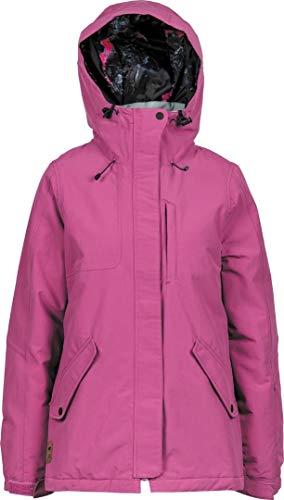 Nitro Snowboards Damen FJALLKONA 19 Snowboardjacke Skijacke Winter Wasserabweisend atmungsaktiv warm Jacke Hose Verbindungsmöglichkeiten, Smkd Pink, L