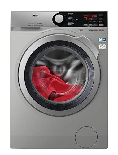 AEG L7WE76685S Waschtrockner/DualSense – schonende Pflege / 8,0 kg Waschen / 6,0 kg Trocknen/A/energiesparend/Mengenautomatik/Nachlegefunktion/ProSteam - Auffrischfunktion / 1600 U/min, dark silver