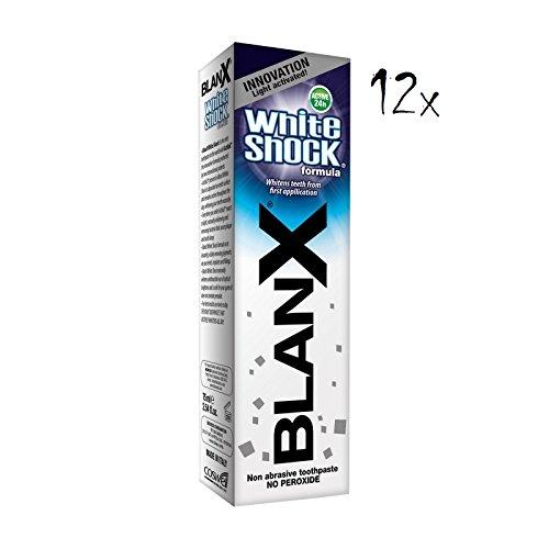 BLANX Dentifricio Sbiancante White Shock 75 Ml
