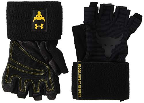 Under Armour - Guantes de entrenamiento - Training Project Rock Glove - Negro (M)