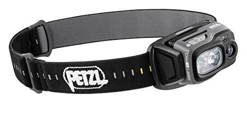 Petzl E810AA00 - Lámpara SWIF RL Pro, color negro