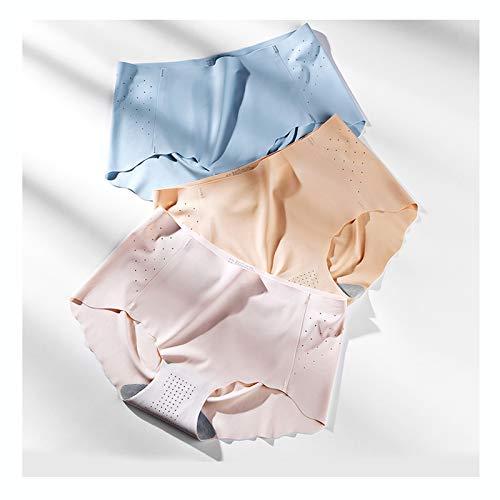 Bragas Mujer La Ropa Interior Femenina Sin Costuras Se Puede Cortar A Voluntad, Ropa Interior Femenina De Algodón Cómoda Y Transpirable, M, L, XL (Color : Style6, Size : Medium)