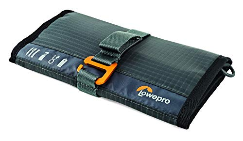 lowepro memory cards Lowepro GearUp Wrap: Compact Travel Organizer for Phone Cables, Adapters, USB Memory Sticks and Small Devices