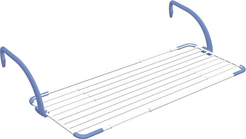 Gimi Brezza Extend Tendedero de balcón de acero y resina, 20 m de longitud de tendido