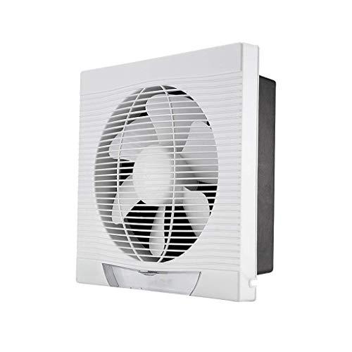Extractor De Baño, Ventilador de extractor de baño, ventilador de extractor de cocina 8 pulgadas, ventilación montada en la pared Cocina/sala de estar/dormitorio Vidrio silencioso