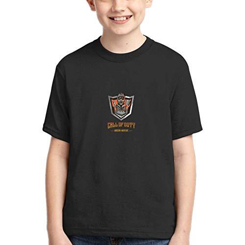 XCNGG Niños Tops Camisetas Teen Youth Boys Call-of-Duty-Modern-Warfare T-Shirt Logo tee Shirts for Teens Boy Short Sleeve Apparel Tshirt