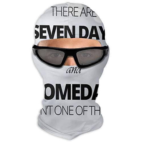 N/A Full Face Mask Fitness Motivatie Hood Zonnebrandcrème Masker Dubbele Laag Koud Voor Mannen En Vrouwen