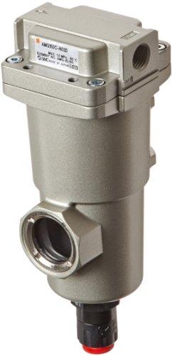 SMC AMG150C-N02D Water Separator, N.O. Auto Drain, 300 L/min, 1/4