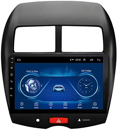AEBDF Navegación GPS de Android para Mitsubishi ASX 2013-2015.9.0 Pulgadas Coche Estéreo Radio Player Sat Nav Bluetooth Volante Control,8Core WiFi+4G 4+64 DSP+Carplay