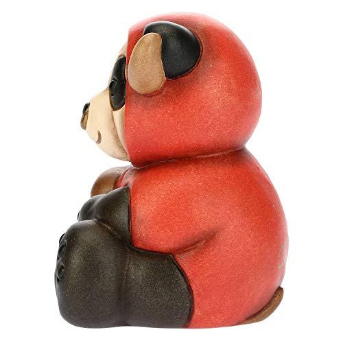 THUN - Panda Taurus - Linea Oroscopo - Formato Piccolo - Ceramica - 6x5,8x7,5 h cm