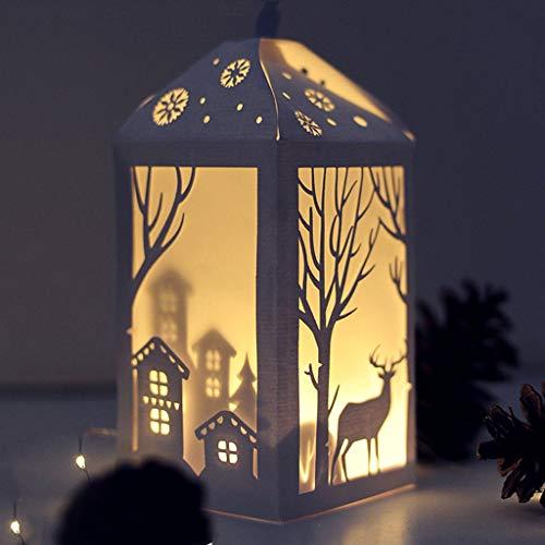 ECMQS Christmas Tree Elk Stanzmaschine Stanzschablone Prägeschablonen Stanzformen Schablonen Für Scrapbooking, Herstellung Von Karten, Albumdekoration, Bilderrahmen