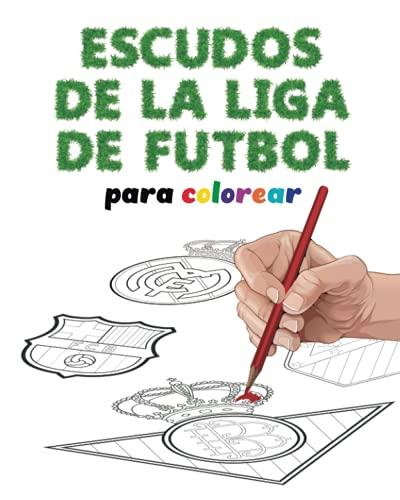 Escudos de la liga de futbol para colorear: Todos los escudos de los equipos de futbol españoles más historicos para colorear