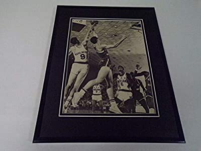 1966 Kentucky vs Indiana Basketball 11x14 Framed Photo Display Mike Casey