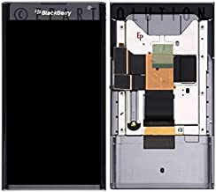 ePartSolution_LCD Display Touch Screen Digitizer Glass Lens + Frame Assembly for BlackBerry Priv STV100 Black Replacement Part