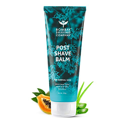 Bombay Shaving Company Post-Shave Balm- After Shaving Lotion with Witch Hazel, Alcohol Free – 100 g   Made in India