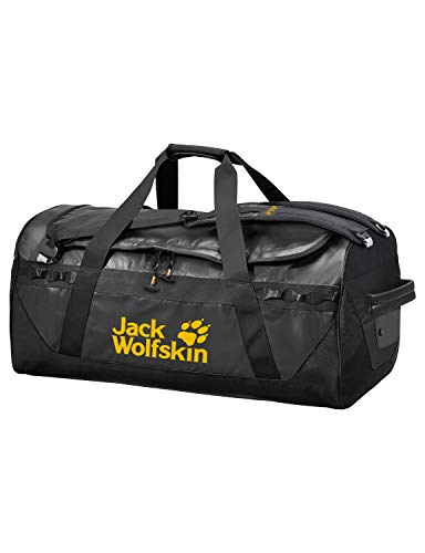 Jack Wolfskin Expedition Trunk 100 Sac de Voyage Sport Adulte Unisexe, Black, One Size
