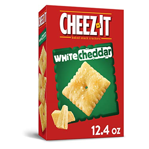 Cheez-It Baked Snack Crackers - White Cheddar - 12.4 oz