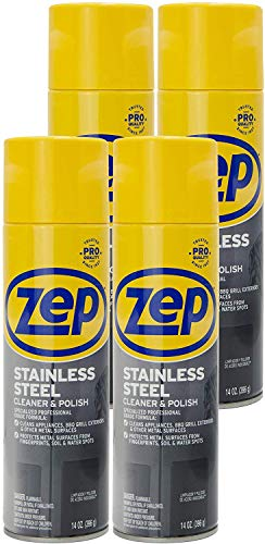 Zep Stainless Steel Cleaner 14 Ounce ZUSSTL14 (case of 4)