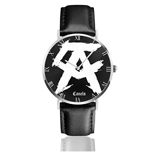 Canelo Alvarez Relojes Unisex Reloj de Moda Ultrafino