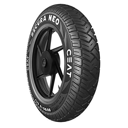 Ceat Secura Neo 3.00-10 42J Tube-Type Scooter Tyre, Front or Rear