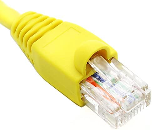 2 Ft 2ft Cat6 Ethernet Network Cable Patch Boot OFFicial shop Ultra w Low price Yellow