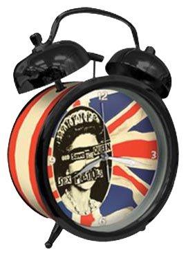 Sex Pistols - Queen Logo Twin Bell Wecker