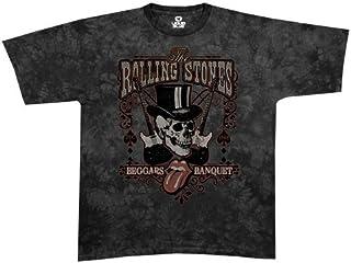 Liquid Blue Men's Rolling Stones Beggars Banquet Short Sleeve T-Shirt