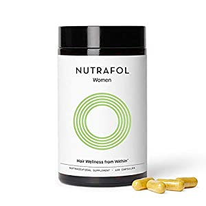 Nutrafol Women Hair Growth For Thicker, Stronger Hair (4 Capsules Per Day) (1 Month Supply)