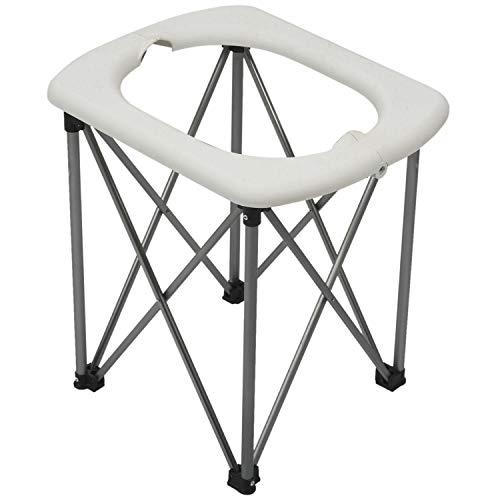 Naliovker Sedia da Toilette Pieghevole Multifunzionale per Sedili WC per Sedili Mobili di Emergenza All'Aperto per Escursioni da Viaggio Portatili