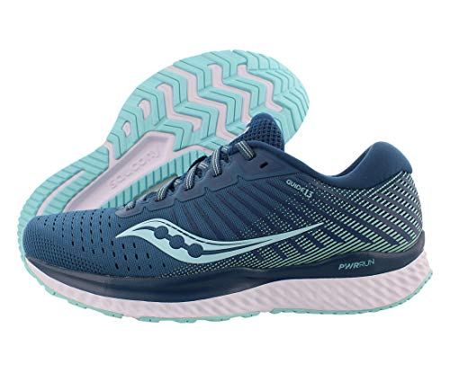 Saucony Women's Guide 13, Blue/Aqua, 5 Medium