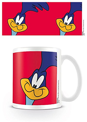 empireposter Looney Tunes - Roadrunner - Keramik Tasse - Größe Ø8,5 H9,5cm