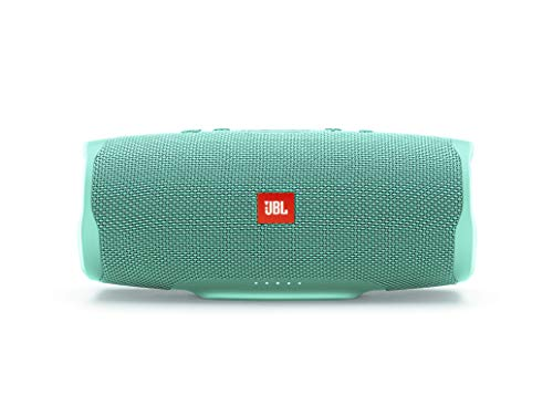 JBL Charge 4 Bluetooth-Lautsprecher in Petrol – Wasserfeste, portable Boombox mit integrierter Powerbank – Mit nur einer Akku-Ladung bis zu 20 Stunden kabellos Musik streamen