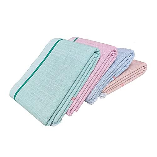 Blanco Gamchha 100% algodón/baño, mano, cara, pelo Gamcha/blanco algodón toallas de baño,...
