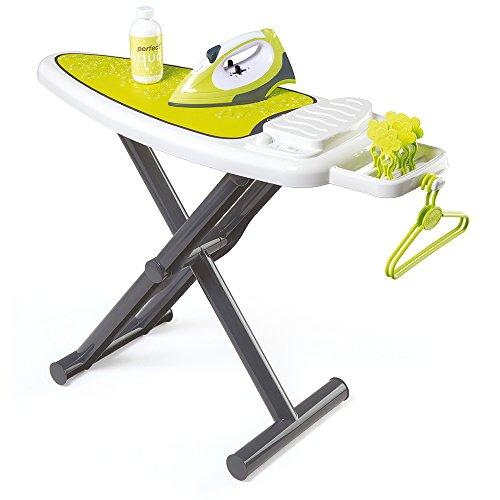 Smoby - 330104 - Jeu Imitation - Table à Repasser + Fer - + Accessoires