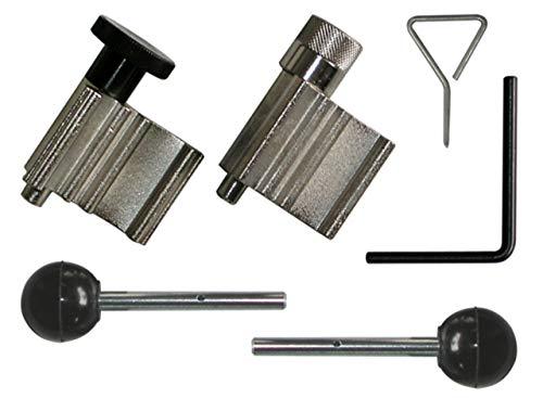 Alkan 1319 Arretierwerkzeug Satz TDI PD PUMPE DÜSE Kompatibel mit VAG Motoren/Zahnriemen und Motoreinstellwerkzeug 6-tlg. (Motor-Instandsetzung und Zahnriemenwechsel Werkzeug)