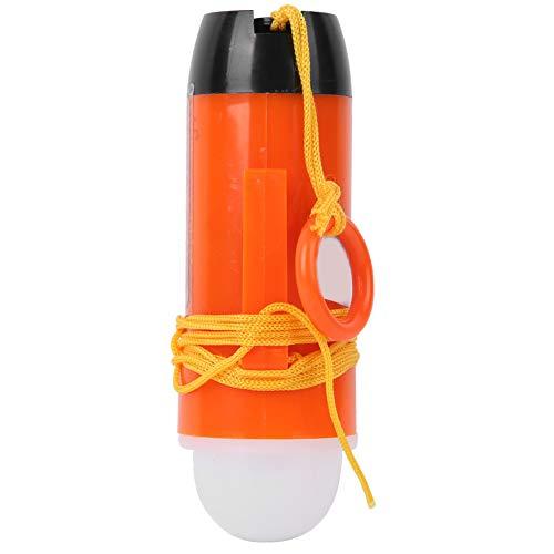 WLGOLD Flytväst lampa, kompakt litiumbatteri livslängd jacka lampa livbesparande utrustning för båtanvändning
