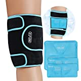 REVIX Ice Pack for Knee Injury Reusable Ice Wrap with Cold